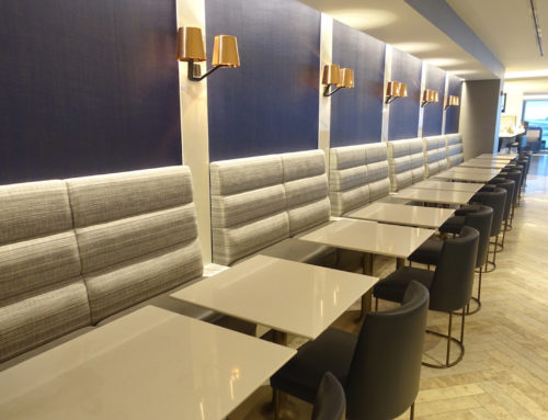 United Airlines Polaris Club at O'Hare Airport